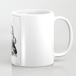 asc 729 - La lune de chasse (Two went in. I came out) Coffee Mug