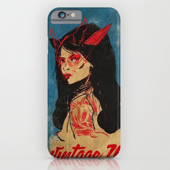vintage 76 (wicked) iPhone & iPod Case