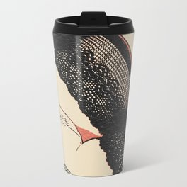 And what do we have in here? Sexy in lingerie, no panties upskirt, pubic hair flash, kinky girl nude Metal Travel Mug