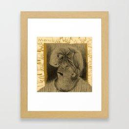 Winter's Hymn Part: 107, Digital Drawing Art Print Framed Art Print