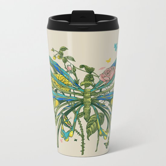 Lifeforms Metal Travel Mug