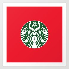The Red Cup Of Doom Art Print