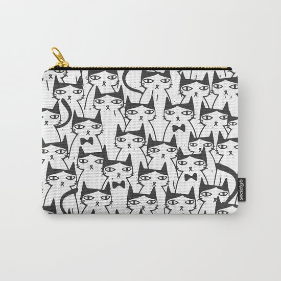 Cats #society6 Decor #buyart Carry-All Pouch