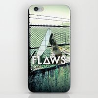 bastille iPhone & iPod Skins featuring Bastille - Flaws by Thafrayer