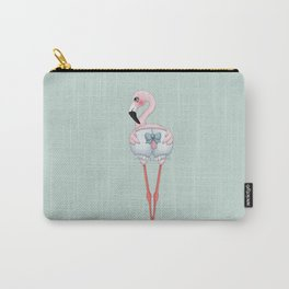 Flamingo Loli Carry-All Pouch