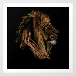 Where there's smoke there's fire! Art Print