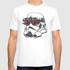 Stormtrooper Eyetest LARGE White Mens Fitted Tee
