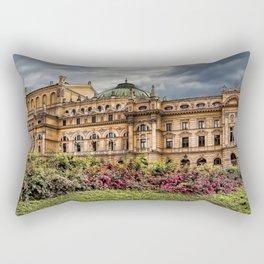 Slowacki Theatre in Cracow Rectangular Pillow