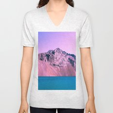 Pastel mountains Unisex V-Neck