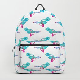 Electric Pink Raygun Backpack