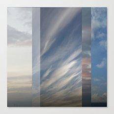 Northern Sky Fragments 1 Canvas Print