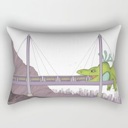 Big Mo – Train Rectangular Pillow