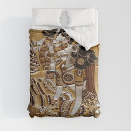 Indian God Radha Krishna Comforters