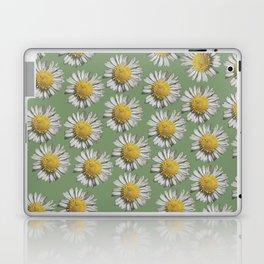 pastel daisy mania Laptop & iPad Skin