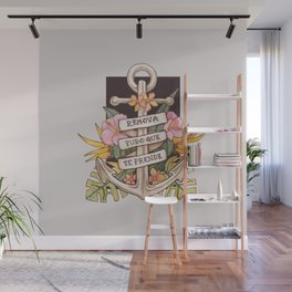 Remove everything that holds you down Wall Mural