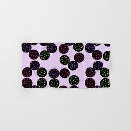 Black Globular with Spotting Color in it Hand & Bath Towel