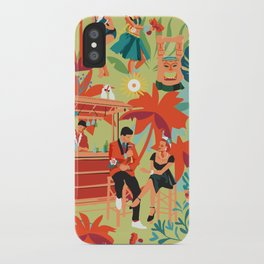 Resort living iPhone Case