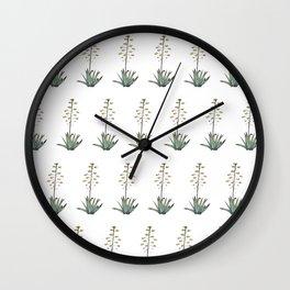 Flora mosaic Wall Clock