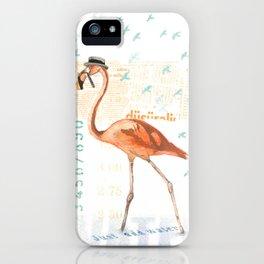 Flamingo Fever iPhone Case