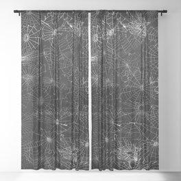 cobwebs Sheer Curtain