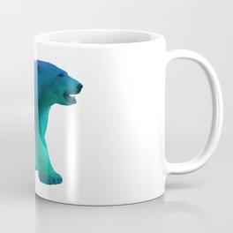 Aurora Polar Bear Coffee Mug