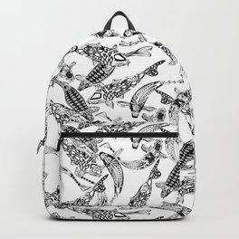 lucky koi mono Backpack