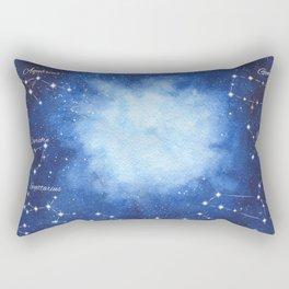 Cosmic Horoscope Rectangular Pillow