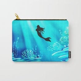 Light Of Mermaid Carry-All Pouch