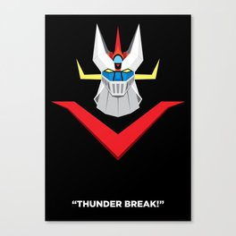 Great Mazinger Canvas Print