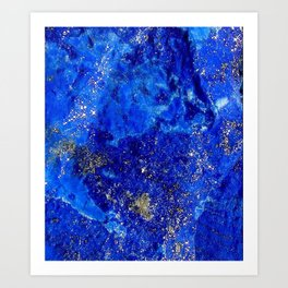 Lapis Dreams Art Print