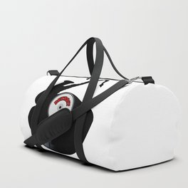Detroit Jazz Music Silhouette Record Duffle Bag
