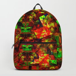 Abstract Cassiopeian Infant Pattern Backpack