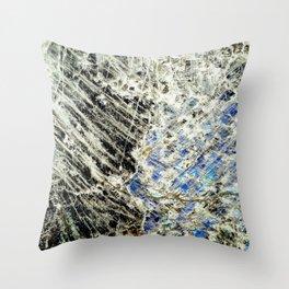 Crystal I Throw Pillow