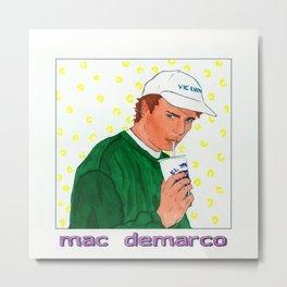 """Mac Sippin"" Colored No. 2 Metal Print"