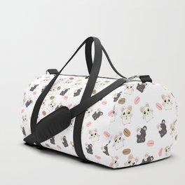 Hamsters and Macarons Duffle Bag