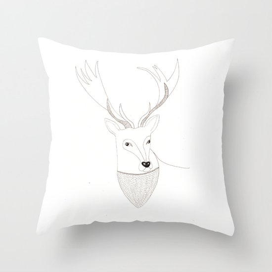 Well hello there dear  Throw Pillow