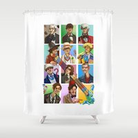 doctor who Shower Curtains featuring Doctor Who? by threehares