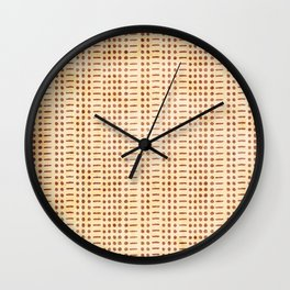 I Am Fine - Code (Gold) Wall Clock