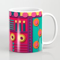 sunrise Mugs featuring Sunrise by Shelly Bremmer