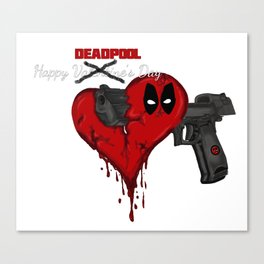 Happy Dead pool Day Canvas Print