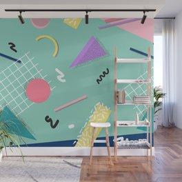 Dreaming 80s Pattern #society6 #decor #buyart Wall Mural