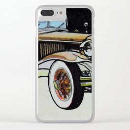 1931 cord Clear iPhone Case
