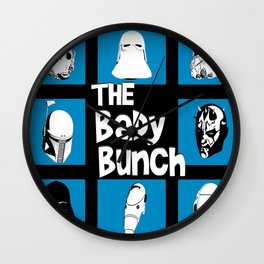 The real dark side - The Bady Bunch Wall Clock