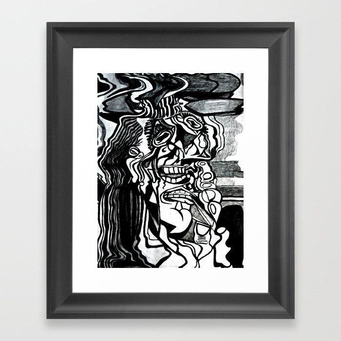 Basically Picasso Framed Art Print