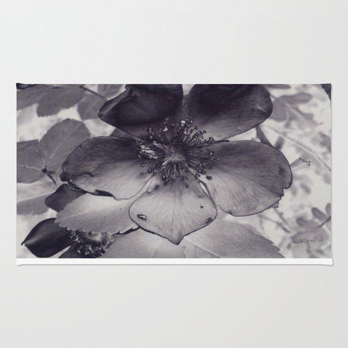 Alberta Wild Rose Rug