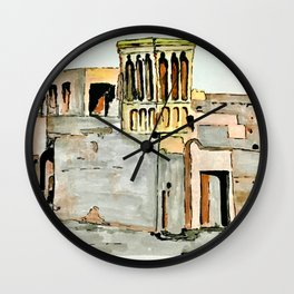UAE Heritage Wall Clock