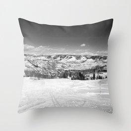 Sugar Mountain Throw Pillow