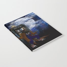 Werewolf 10th Doctor who Notebook