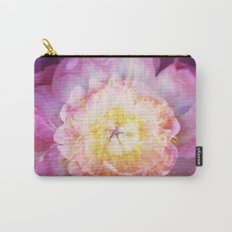 Peony Abstractions Carry-All Pouch