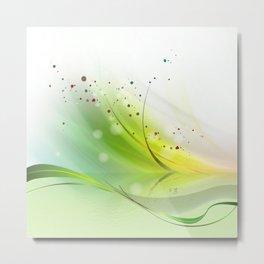 fresh green spring Metal Print